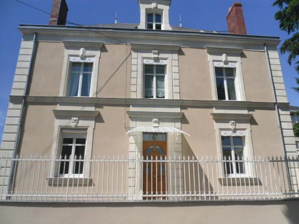 Angers Façade Maison de Ville