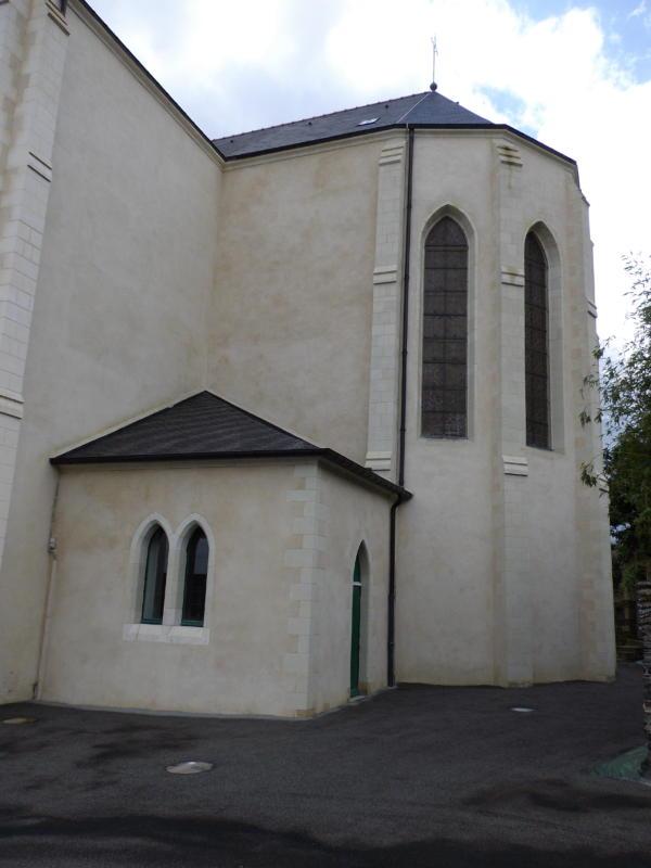 La Chapelle de Brain Eglise Saint Melaine