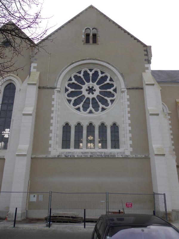 Le louroux Béconnais Eglise Saint Aubin