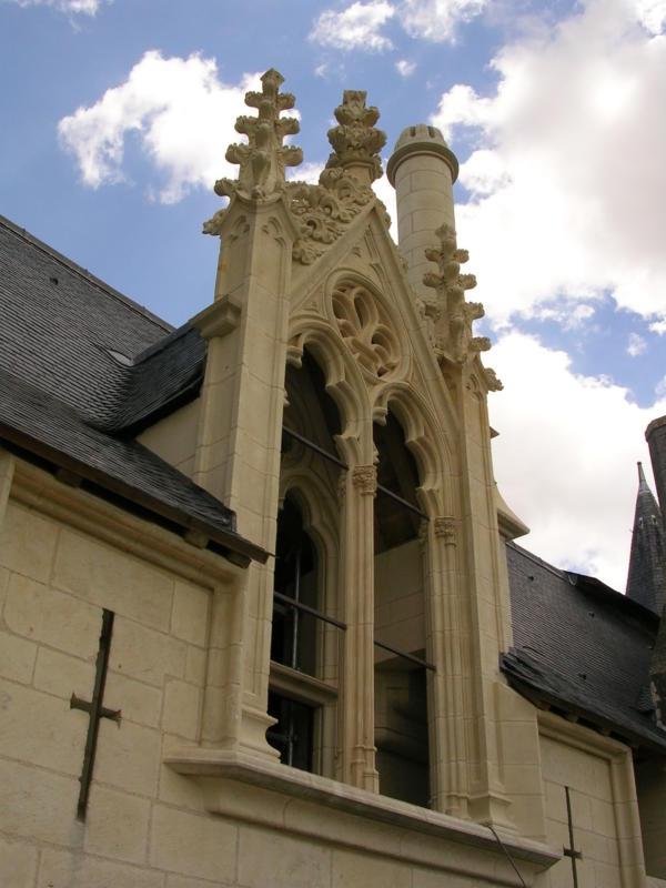 Saumur Chateau Lucarne Sud